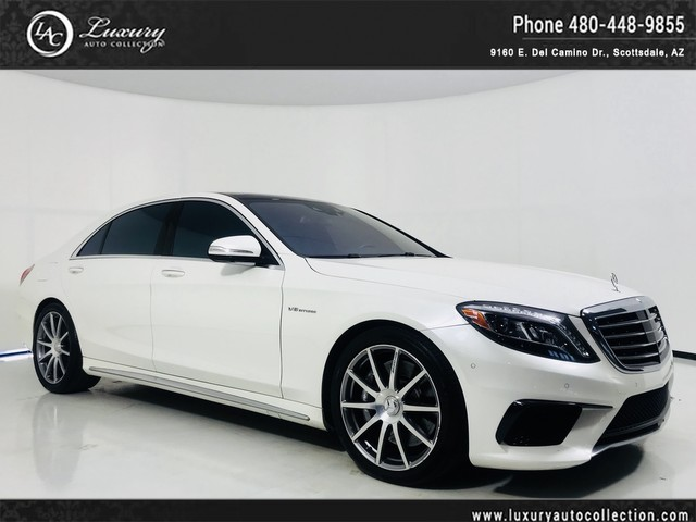 Photo 2014 Mercedes-Benz S-Class S 63 AMG Drivers Assist  Night View  Distronic Plus  Surround Camera  15 16 All Wheel Drive 4MATIC Sedan