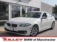 2015 Certified Used BMW 528i Sedan xDrive Alpine White For Sale Manchester NH & Nashua | Stock:MPL2547