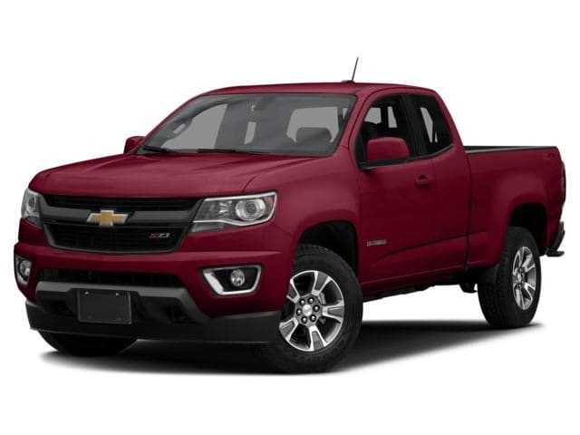 Photo 2016 Certified Used Chevrolet Colorado Truck Extended Cab Z71 Red Rock For Sale Manchester NH  Nashua  StockB181304A
