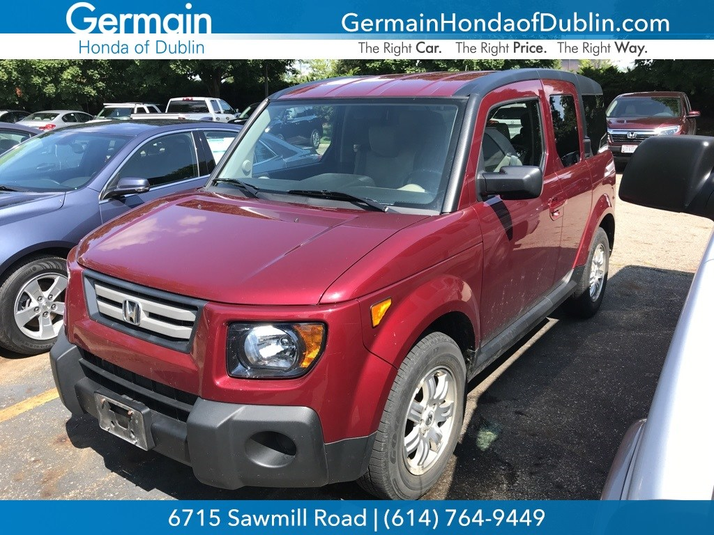Photo Used 2008 Honda Element EX For Sale Dublin OH  Stock H182045A