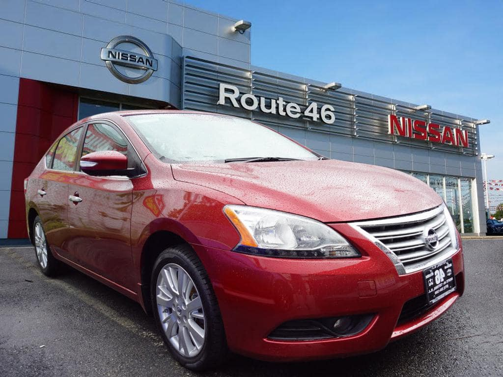 Photo Used 2015 Nissan Sentra SL Sedan for sale in Totowa NJ