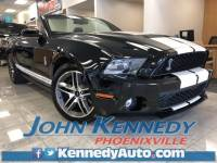 Used 2010 Ford Mustang Shelby GT500 Convertible V8 32V Supercharged For Sale Phoenixville, PA