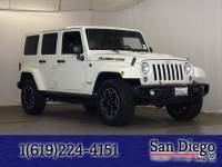 Certified 2015 Jeep Wrangler Unlimited Rubicon 4x4 SUV in San Diego