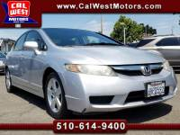2009 Honda Civic LX-Sport Leather MnRoof MPG++ VeryClean WellMntnd