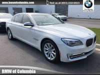 2015 BMW 7 Series 740Li Sedan Rear-wheel Drive