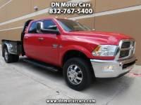 2012 Dodge Ram 3500 Laramie Crew Cab Diesel 4WD Flat Bed DRW
