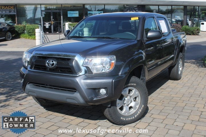 Photo Pre-Owned 2014 Toyota Tacoma 4x4 Truck Double Cab in Greenville SC