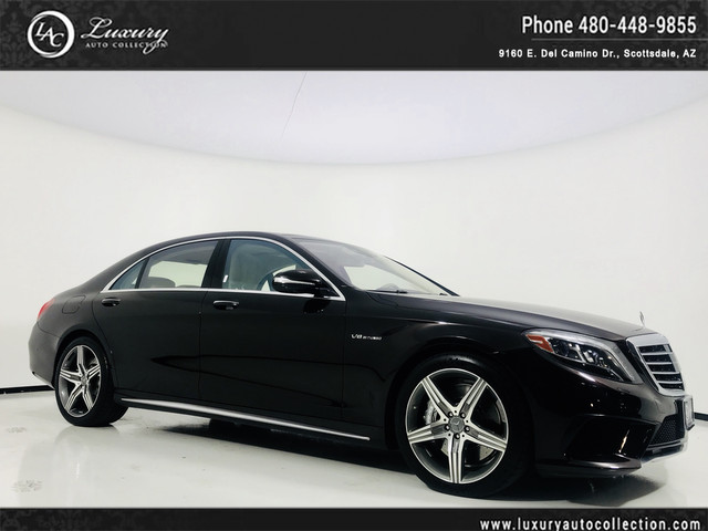 Photo 2015 Mercedes-Benz S-Class S 63 AMG 4MATIC  360 Camera  Drivers Assist  DISTRONIC  16 17 All Wheel Drive 4MATIC Sedan