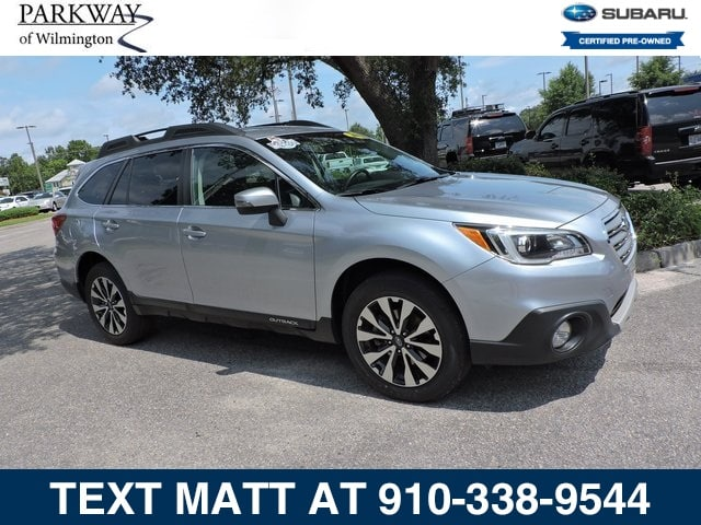Photo Certified Used 2015 Subaru Outback 2.5i Limited For Sale  Wilmington NC