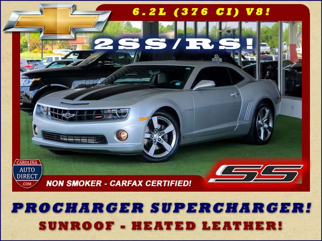 Photo 2010 Chevrolet Camaro 2SS RS - PROCHARGER SUPERCHARGER - SUNROOF - 6-SP