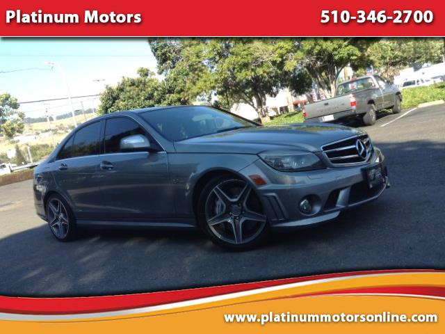Photo 2008 Mercedes-Benz C-Class C63 AMG  Like New  Perfect Carfax History  We F