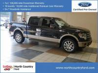 2013 Ford F-150 4WD Supercrew 145 King Ranch Truck SuperCrew Cab V6