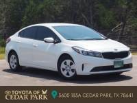 Pre-Owned 2017 Kia Forte LX FWD 4dr Car