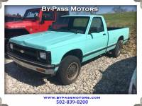 1991 Chevrolet S10 Pickup Reg  Cab Long Bed 4WD
