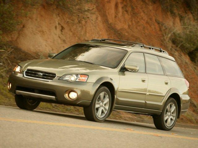 Photo Used 2005 Subaru Legacy Wagon Outback Ltd in Utica, NY