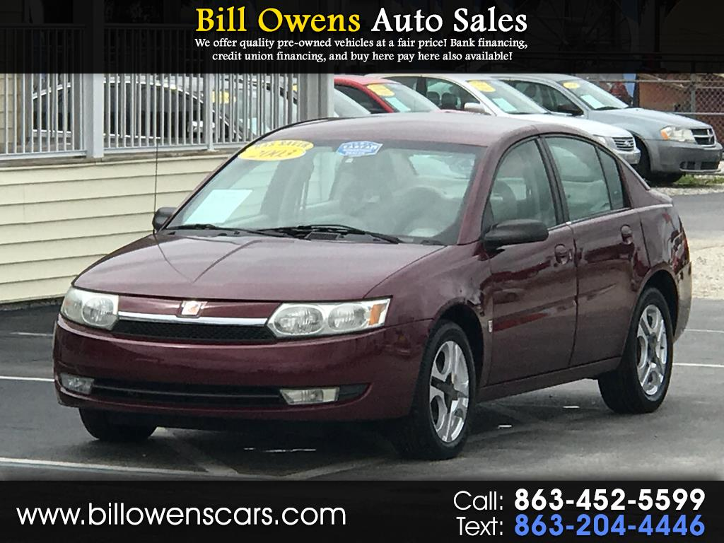 Photo 2003 Saturn ION ION 3 4dr Sdn Auto