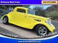 1934 Ford Model 40 Suicide Door 3-window Coupe