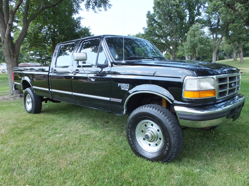 Photo 1995 Ford F-350 XLT Crew Cab 4WD