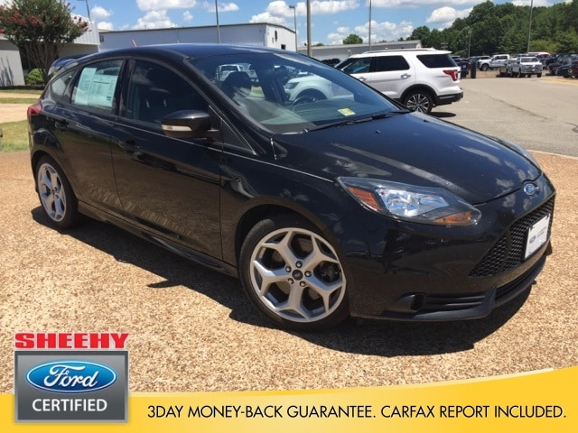 Photo Certified 2014 Ford Focus ST ST Hatchback I-4 cyl in Richmond, VA