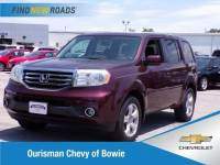 Used 2013 Honda Pilot EX-L 4WD SUV in Bowie, MD