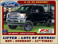 2016 Ford Super Duty F-250 Pickup LARIAT ULTIMATE EDITION Crew Cab 4x4 FX4 - LIFTED!