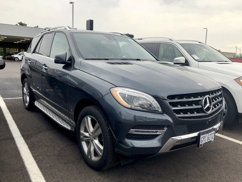 Photo Certified Pre-Owned 2015 Mercedes-Benz ML 350 4MATIC SUV AWD