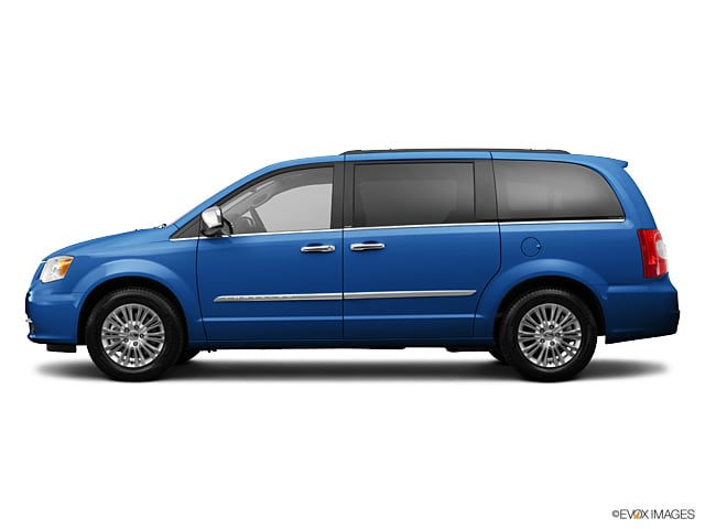 Photo Used 2013 Chrysler Town  Country Touring Crystal Blue Pearlcoat For Sale  Bennington VT  VIN2C4RC1BG7DR574315