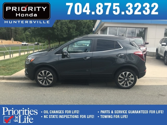 Photo Used 2017 Buick Encore For Sale in Huntersville NC  Serving Charlotte, Concord NC  Cornelius. VIN KL4CJESB5HB005744