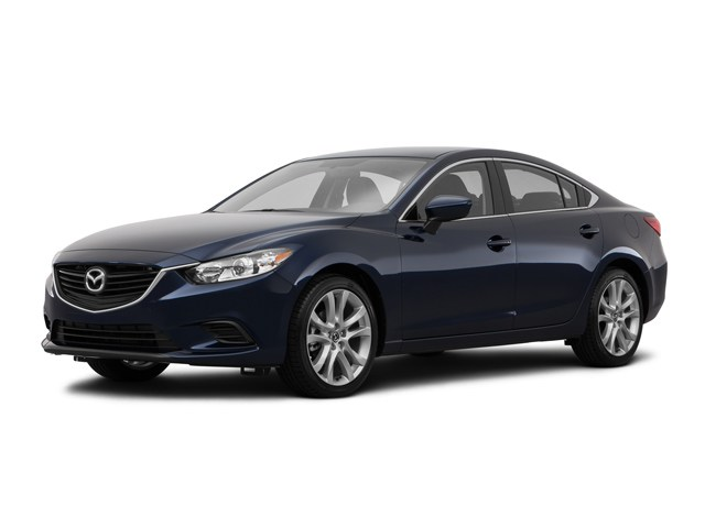 2016 Certified Used Mazda Mazda6 Sedan i Touring Deep Crystal Blue For Sale Manchester NH  Nashua  Stock6M8017A