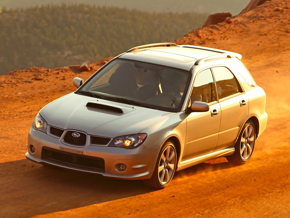 Photo Used 2007 Subaru Impreza WRX for Sale in Tacoma, near Auburn WA