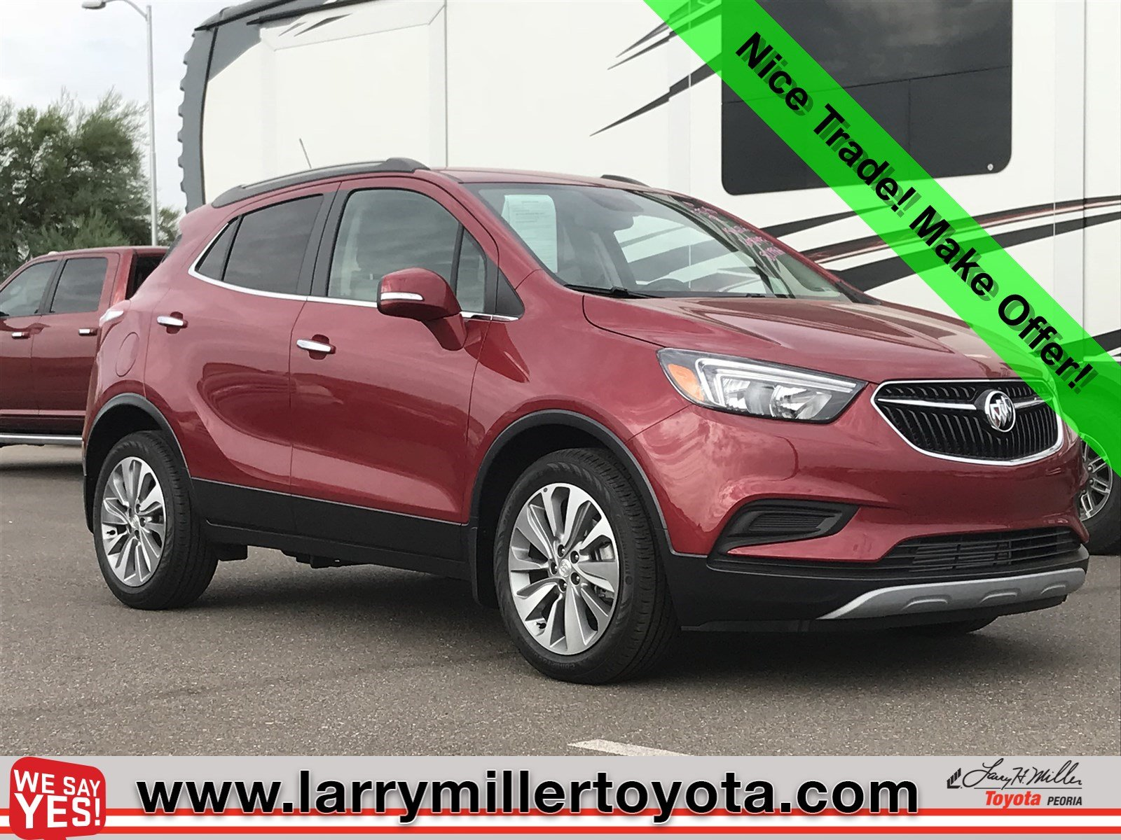 Photo Used 2018 Buick Encore For Sale  Peoria AZ  Call 866 748-4281 on Stock 82198A