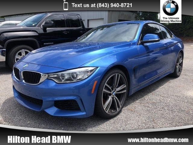 Photo 2016 BMW 4 Series 435i  BMW CPO Warranty  One Owner  M Sport  Tr Coupe Rear-wheel Drive