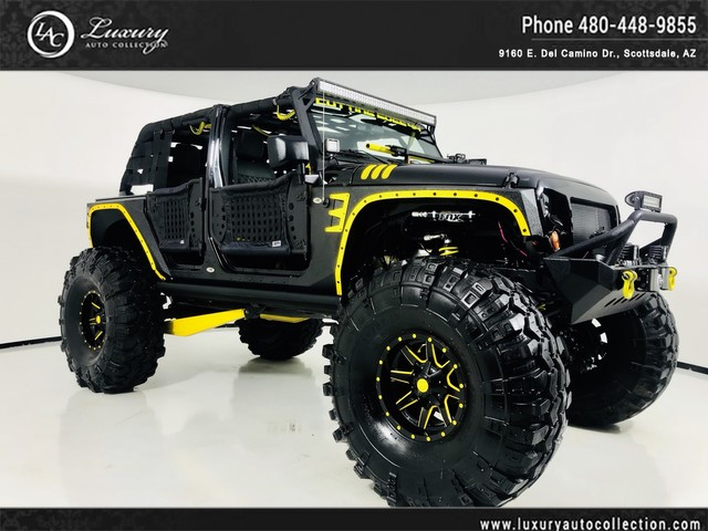 Photo 2012 Jeep Wrangler Unlimited Sahara Fully Custom  Over 150K Spent  One of A Kind  Must See  Four Wheel Drive SUV