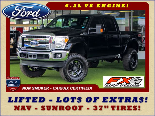 Photo 2016 Ford Super Duty F-250 Pickup LARIAT ULTIMATE EDITION Crew Cab 4x4 FX4 - LIFTED