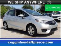 Certified 2015 Honda Fit LX Hatchback in Jacksonville FL