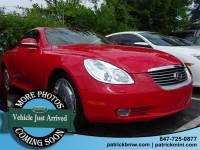 2002 LEXUS SC 430 Convertible for sale in Schaumburg, IL