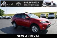 Certified Pre-Owned 2015 Toyota RAV4 Limited All Wheel Drive w/Technology Package, Blue SUV in Plover, WI