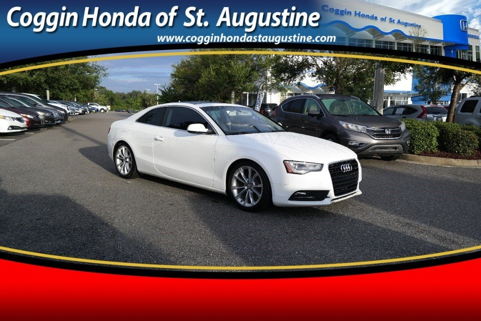 Photo Pre-Owned 2013 Audi A5 2.0T Premium Tiptronic Coupe in Jacksonville FL