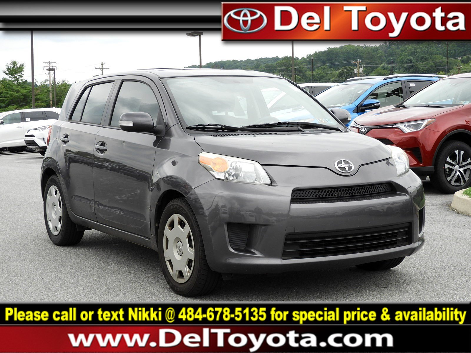Photo Used 2009 Scion xD 4DR HB AT For Sale  Serving Thorndale, West Chester, Thorndale, Coatesville, PA  VIN JTKKU10479J045796
