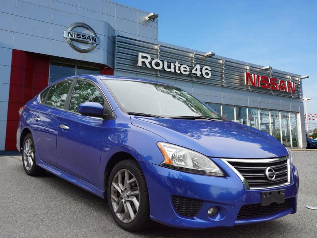Photo Used 2013 Nissan Sentra SR Sedan for sale in Totowa NJ