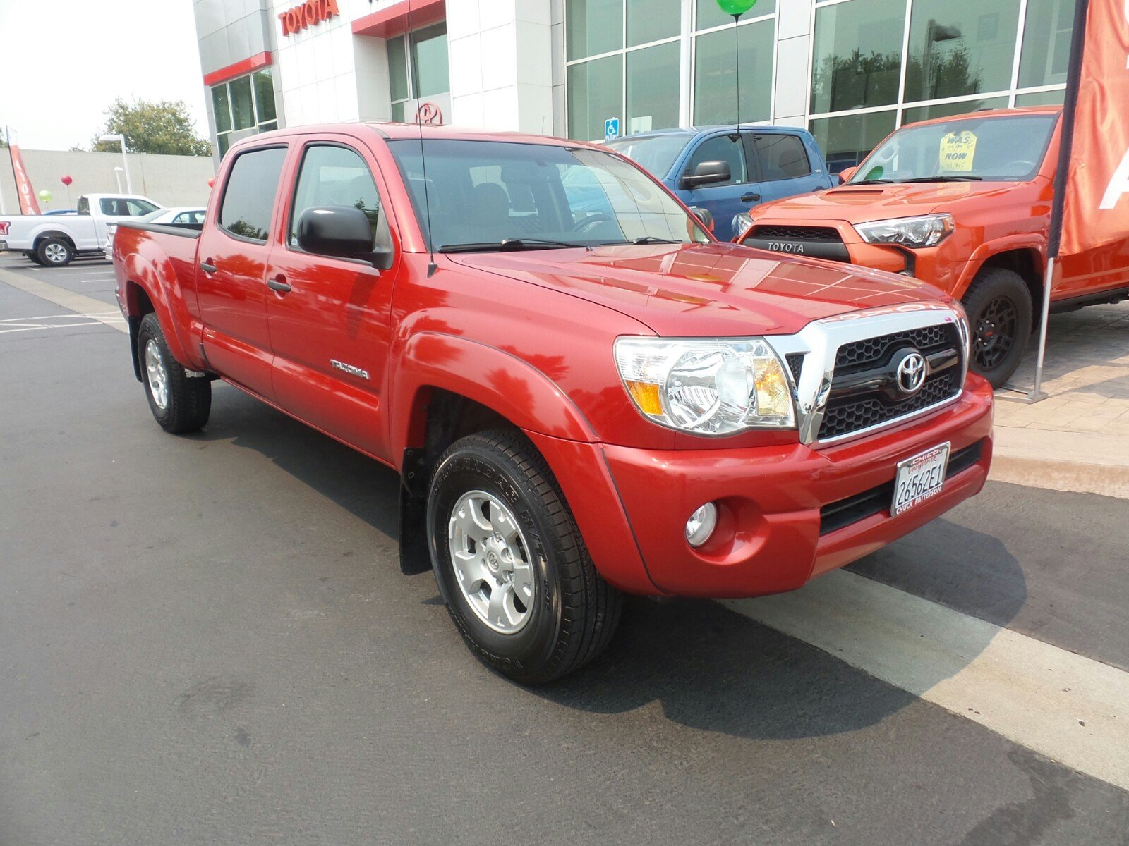 Photo Used 2011 Toyota Tacoma Base V6 Truck Double Cab 4x4 in Chico, CA