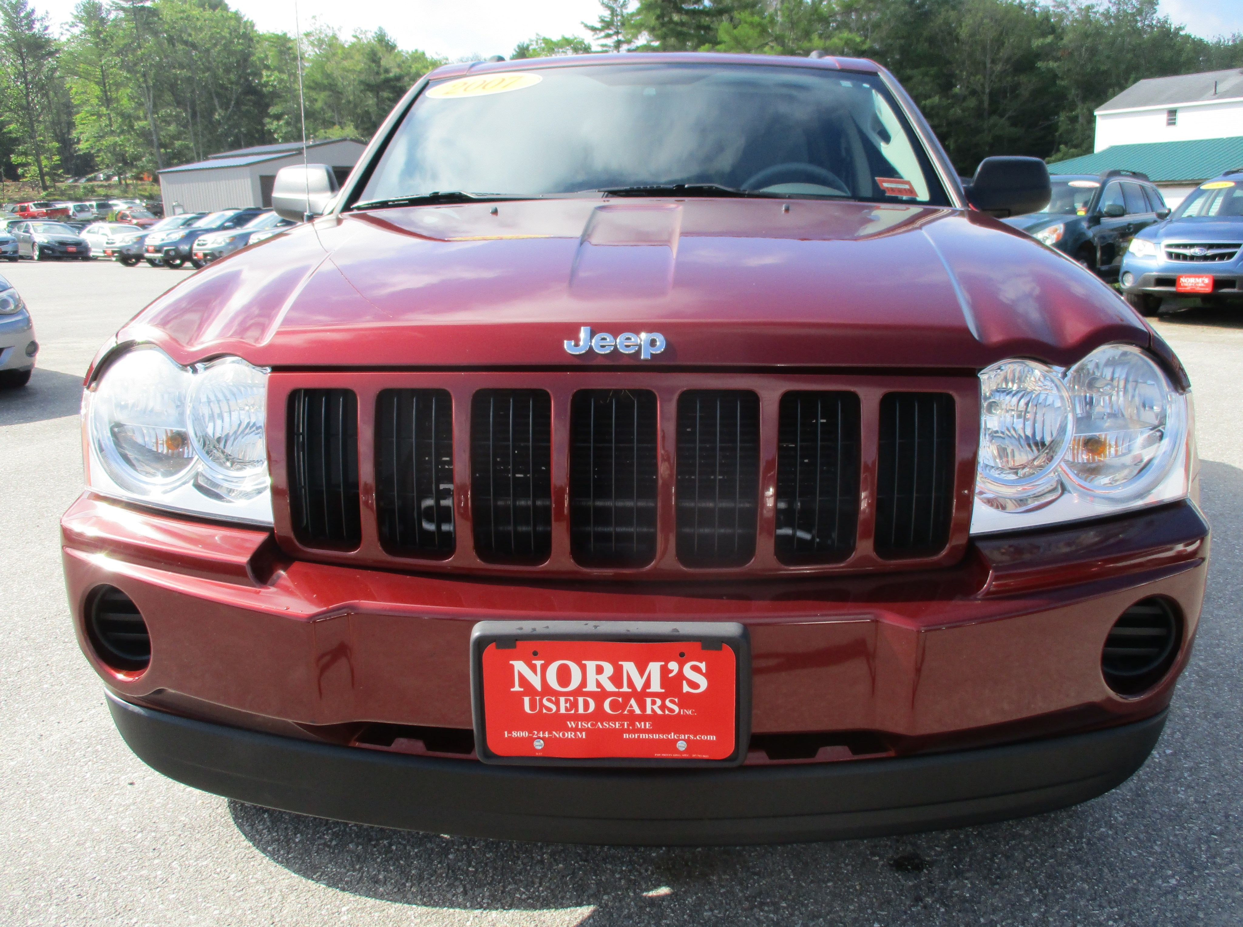 Photo Used 2007 Jeep Grand Cherokee For Sale  Wiscasset ME