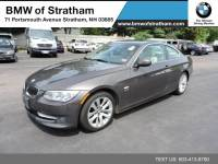 2011 BMW 328i xDrive Coupe 328i xDrive premium cold weather value pkg Coupe All-wheel Drive