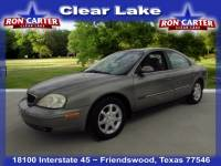 2001 Mercury Sable LS Sedan near Houston
