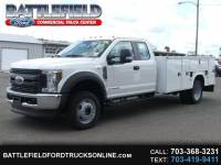 2018 Ford F-550 SuperCab 4x4 XL w/ 11' Utility Body