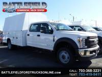 2018 Ford F-550 Crew Cab 4x4 XL w/11' Enclosed Utility Body