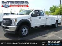 2018 Ford Super Duty F-550 DRW SuperCab 4x4 XL w/ 11' Utility Body