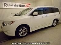 2012 Nissan Quest SL Repairable Rear Damage