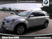 2016 Chevrolet Equinox LT * Balance of Factory Warranty * One Owner * All SUV All-wheel Drive