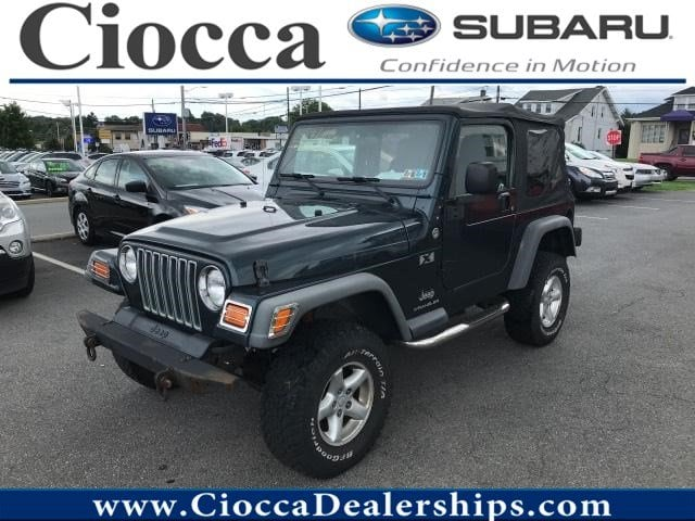 Photo Used 2005 Jeep Wrangler X For Sale Allentown, PA